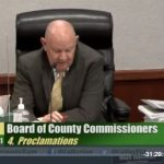 VIDEO: Naples Senior Center proclamation from the Board of Collier County Commissioners