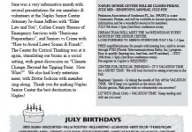 July 2015 Senior Center Newsletter
