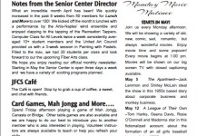 May 2014 Senior Center Newsletter