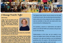 May 2020 Senior Center Newsletter