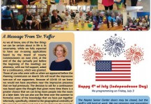 July 2020 Senior Center Newsletter