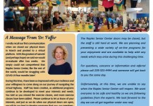 August 2020 Senior Center Newsletter