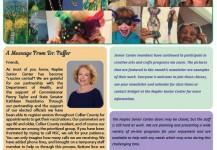 March 2021 Senior Center Newsletter