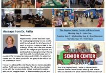 September 2021 Senior Center Newsletter